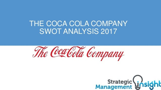 analysis of coca cola company The coca-cola company (ko) appears set to plod along during its 2015 campaign in that vein, a stronger us dollar has hindered overall profitability this year, the.