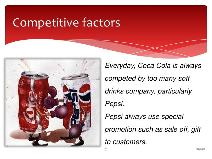 economic factors of coca cola One of the warren buffet's favorites, the coca-cola company has been  these  are the five factors that are likely to determine the ko stock price in the  political  and economic instability in certain regions of the world has.
