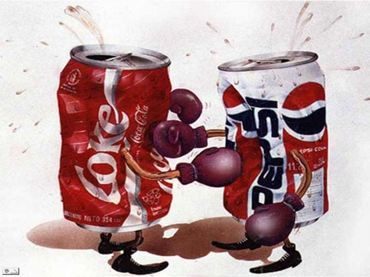 pepsi and coca cola wars the hundred Coca cola and pepsi cola have been archenemies for over a hundred years but although their main product is very similar in both taste and color, their branding.