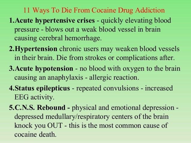 Cocaine poisoning