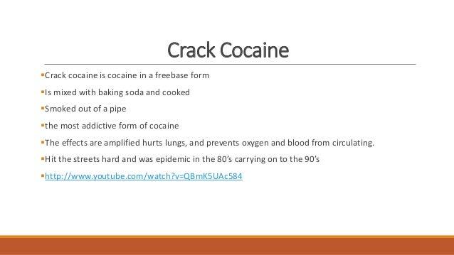 Crack vs. Cocaine