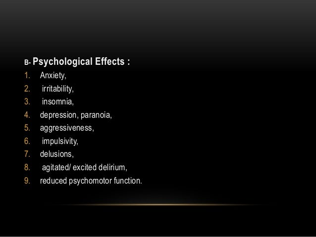 the psychological and physical effects of cocaine use Just the facts: psychological vs physical addiction  and they'll do so without ever experiencing the physical effects of withdrawal (besides possibly being .