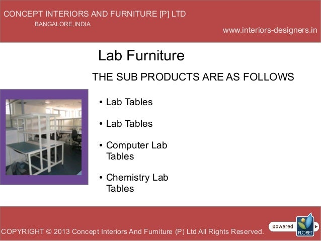Lab Furniture Concept Lab Furnitures Of Concept Interiors And Furniture Pvt Ltd