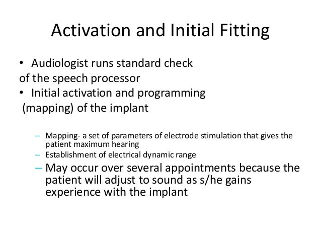 the complications related to the cochlear implant