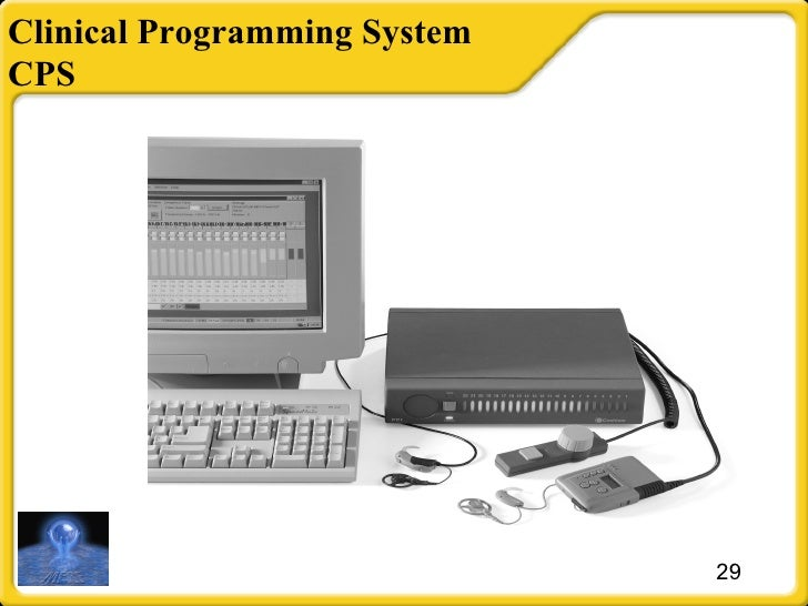 Clinical Programming System CPS