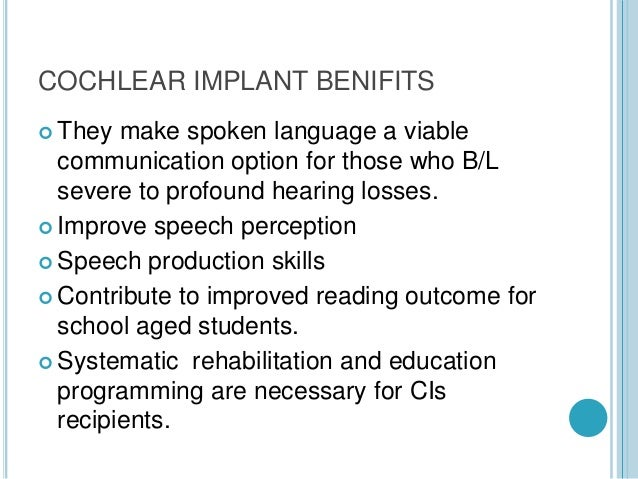 Cochlear implant Slide 2