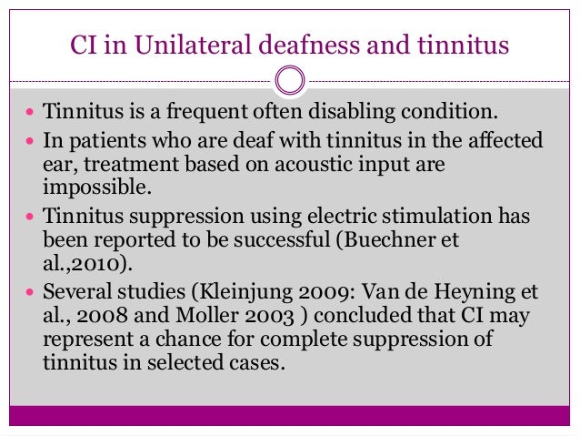 Labyrinthitis OssificansConsequence of meningitisOssification partially or completely block the lumen of scala tympani & o...