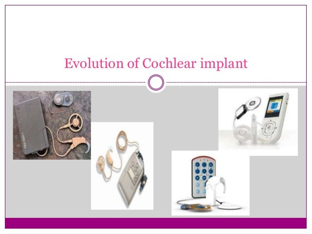  Candidacy for CI has changed gradually but significantly since the first multichannel devices were implanted in the late...