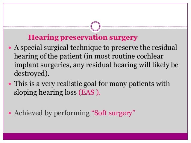 Recent Advances in Cochlear Implant Candidacy