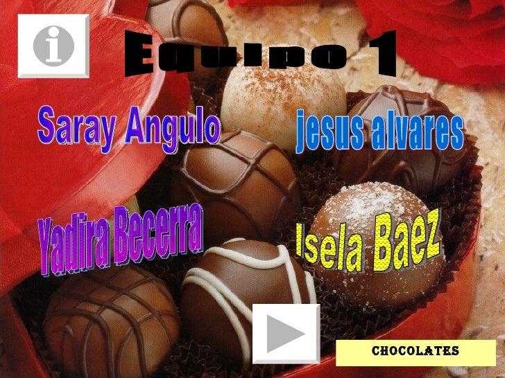 Equipo 1 Saray Angulo jesus alvares Yadira Becerra Isela Baez