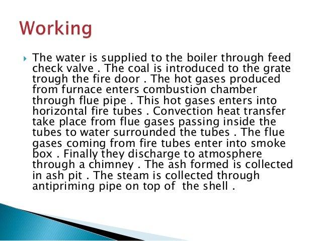 Cochran boiler presentation