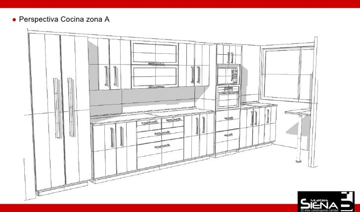 Diseño Mueble Cocina 5