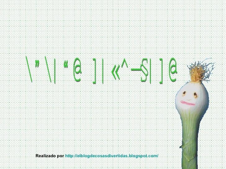 COCINA DIVERTIDA Realizado por  http://elblogdecosasdivertidas.blogspot.com/