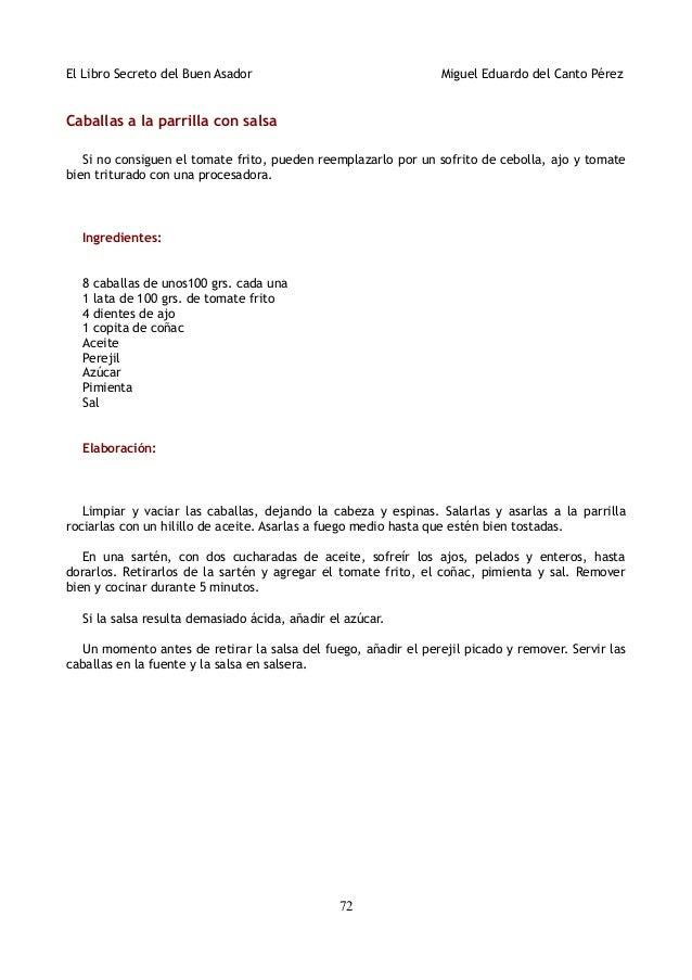 ingredientes para parrillada
