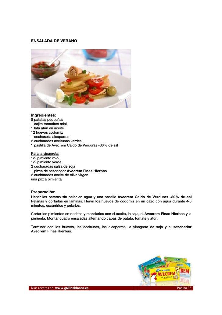 Recetas de cocina para sorprender a tus invitados - Recets de cocina ...