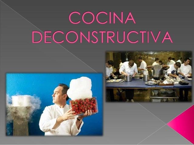  Ferrán Adrià uno de los chef mas conocidos a nivel mundial por sus brillantes ideas, entre ellas el optar por lo que hoy...