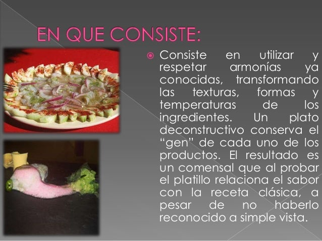 Cocina deconstructiva for Cocina de deconstruccion
