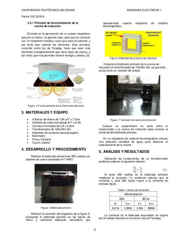Principio de funcionamiento de una cocina de induccion - Cocina de induccion ...