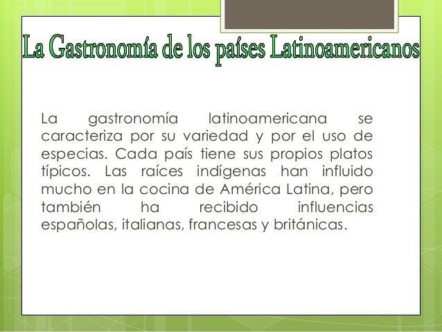 Cocina latinoamericana for Introduccion a la gastronomia pdf