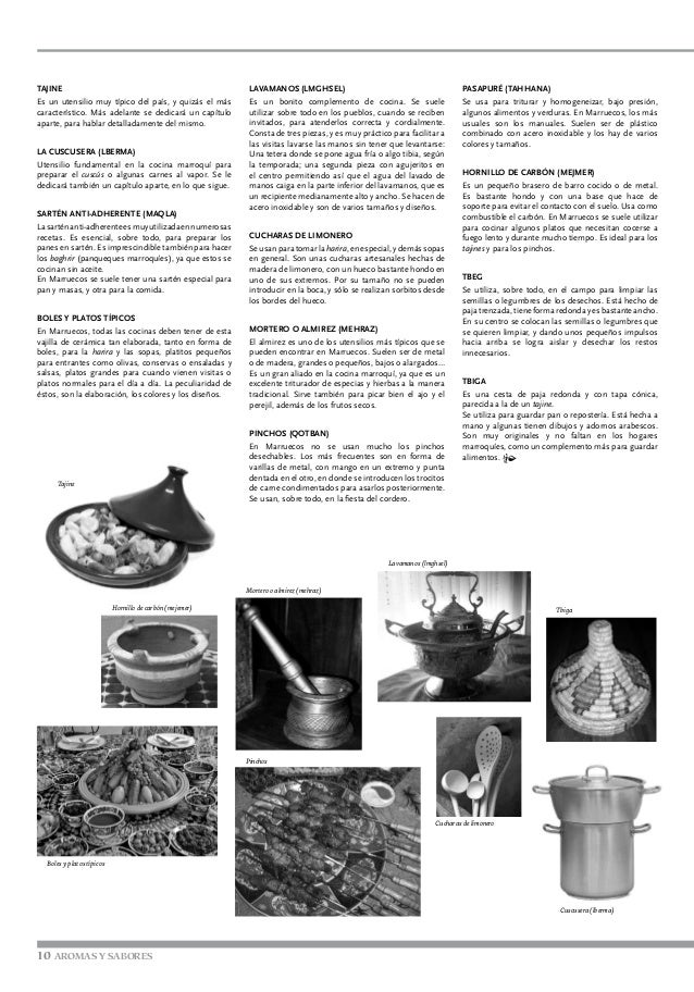Cocina marroqui for Utensilio para amasar