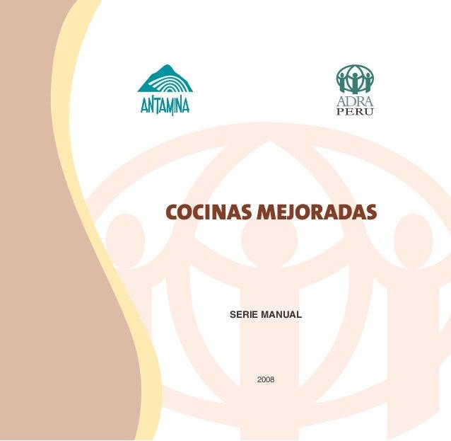 COCINAS MEJORADAS     SERIE MANUAL         2008