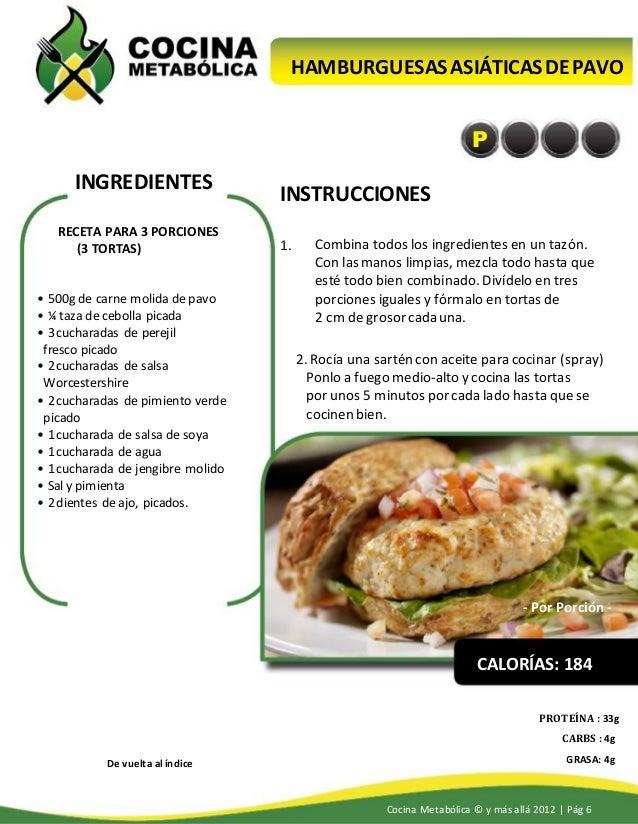 Cocina metabolica karine losier y dave ruel recetas - Cocimax recetas ...
