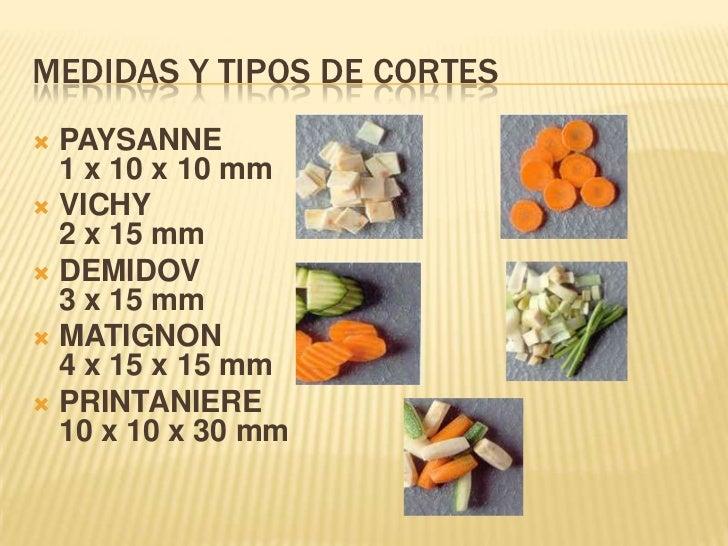Cocina nacional 6 sem uaeh for Cortes de verduras gastronomia pdf