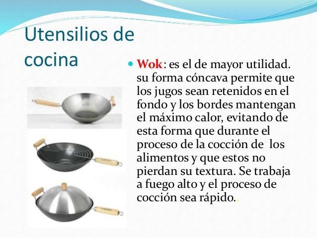 Cocina oriental general for Utensilios de cocina fondo