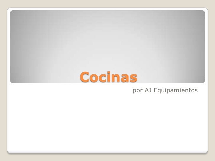 Cocinas <br />por AJ Equipamientos<br />