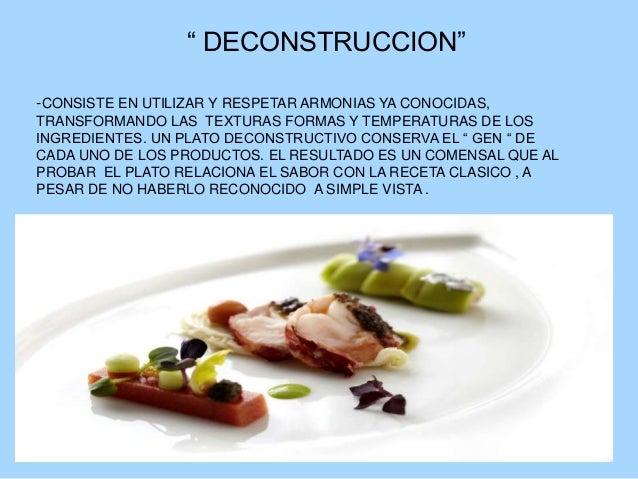 Cocinas de vanguardia 2 for Cocina de deconstruccion