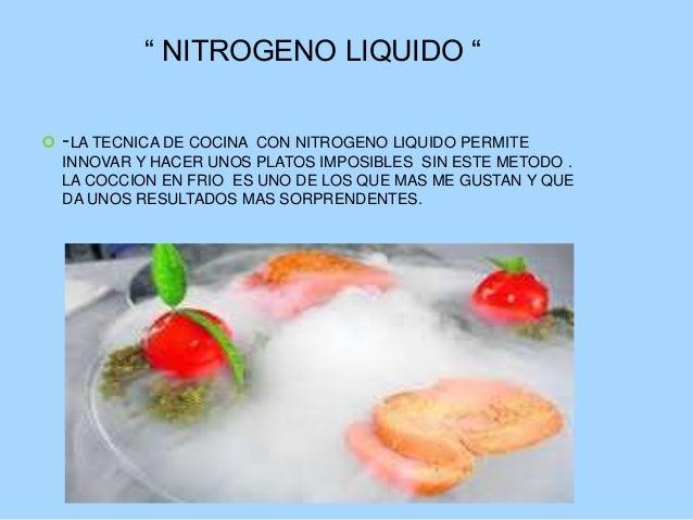 Cocinas de vanguardia 2 for Tecnicas de cocina molecular