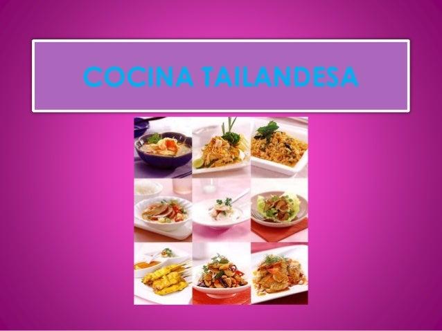 Cocina tailandesa - Grado medio cocina y gastronomia ...