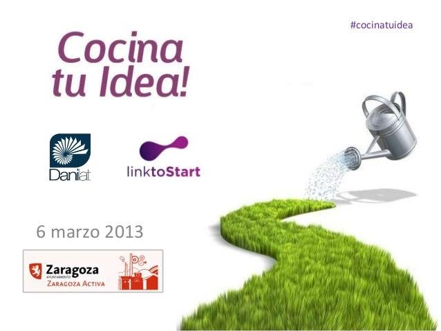 #cocinatuidea6 marzo 2013