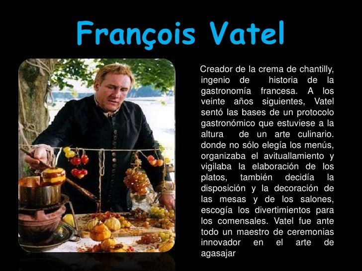 Cocineros for Caracteristicas de la gastronomia francesa