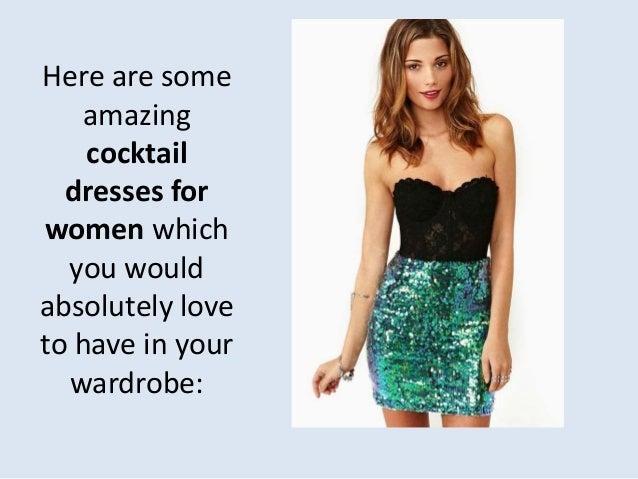 Love cocktail dresses