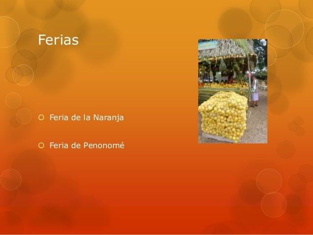 Ferias Feria de la Naranja Feria de Penonomé