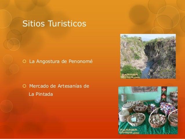 Sitios Turisticos La Angostura de Penonomé Mercado de Artesanías de  La Pintada