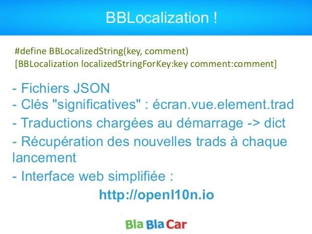 """BBLocalization ! - Fichiers JSON  - Clés """"significatives"""" : écran.vue.element.trad - Traductions chargées au démarrage ->..."""