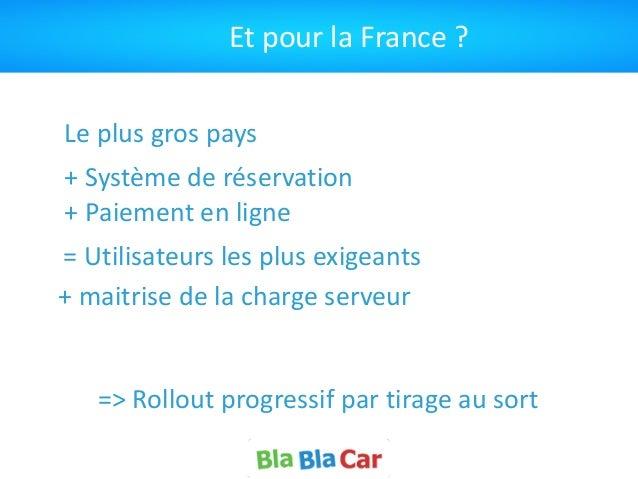 Et  pour  la  France  ?   Le  plus  gros  pays =  Utilisateurs  les  plus  exigeants +  Système...