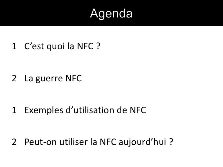 CocoaHeads Toulouse - NFC Slide 2