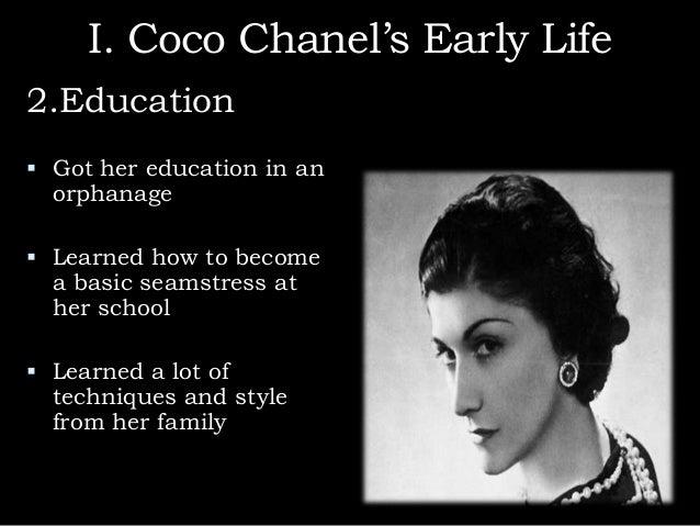 Coco chanel fashion designs