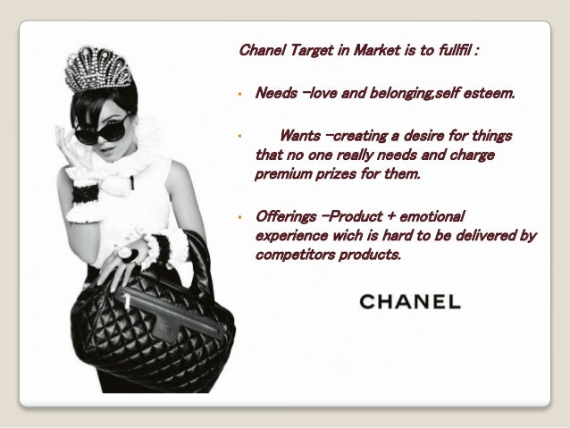 What is Chanel's mission statement?
