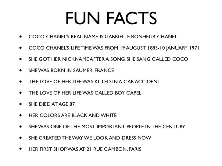 Coco Chanel : The Legend and the Life