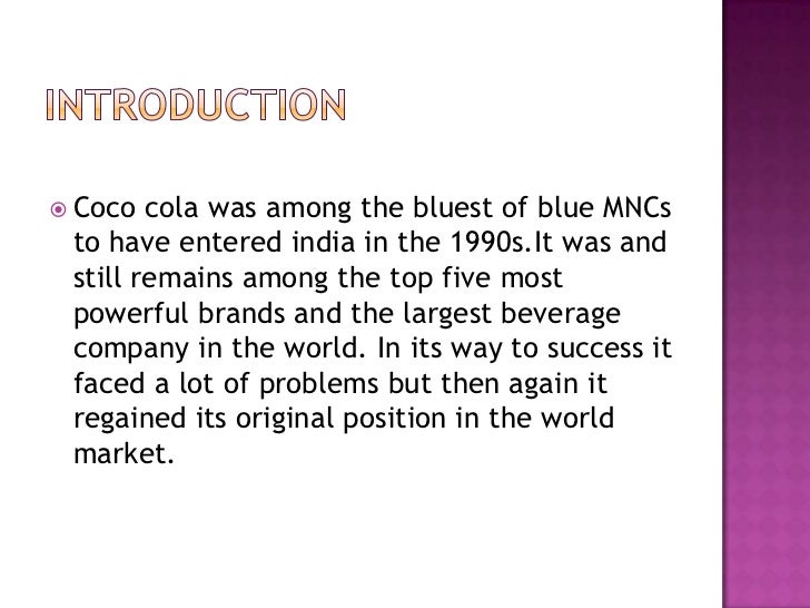 coco cola case Read this essay on coca cola case study analysis come browse our large digital warehouse of free sample essays get the knowledge you need in order to pass your.