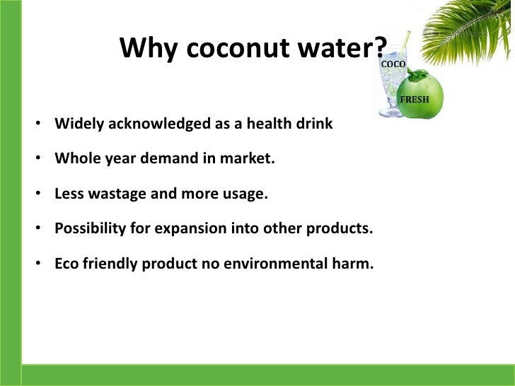 coconut water business plan in india