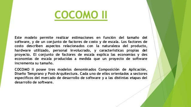 MODELO COCOMO II EBOOK DOWNLOAD
