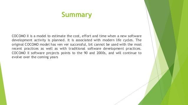 Cocomo ii para estimar esforco prazo e custo de um projeto de desenvolvimento de software 1