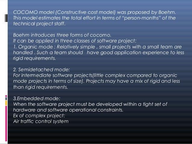 Cocomo model Slide 2