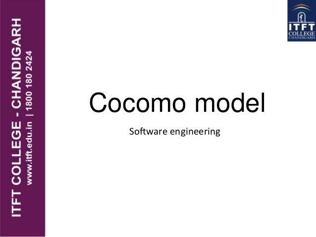 Cocomo model Software engineering