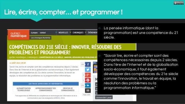 #Cocreatic. programmation et robotique pédagogique Slide 2
